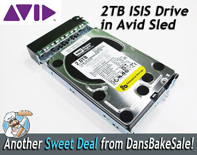 Avid ISIS 2TB  Western Digital Spare Drive for use with Avid ISIS Shared Storage
