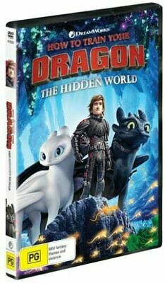 PREORDER: HOW TO TRAIN YOUR DRAGON - HIDDEN WORLD   - DVD - UK Compatible