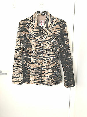 Wicked tiger print warm suit S8