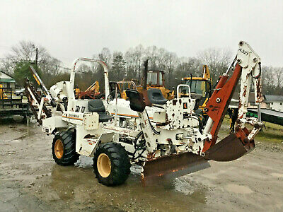 NICE 4010 DITCH Witch Trencher and Backhoe with Only 1817 Hours