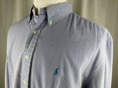 23b68f42 Polo Ralph Lauren Mens Classic Fit Oxford Buttondown Shirt Long Sleeve  17-1/2