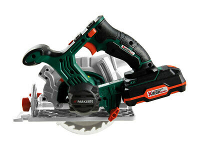 Parkside Cordless Circular Saw With 20V Lithium-ion 2Ah battery. New in Box.