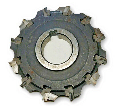 Valenite 101Q-C29046 12-82 Milling Cutter with 12 staggered inserts indexable