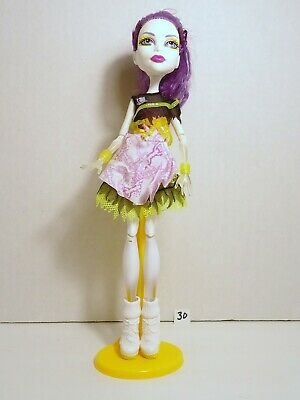 Monster High Spectra Ghoul Sports Doll  with stand # 30