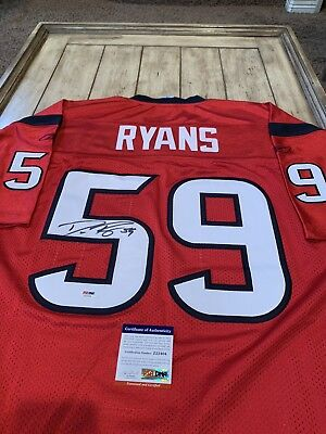 3c6611c43b1 Demeco Ryans Autographed Signed Jersey PSA DNA COA Houston Texans