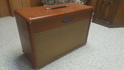 Mesa Boogie Lonestar 27 90W Cognac Lizard Leather 1x12 Guitar Speaker Cabinet