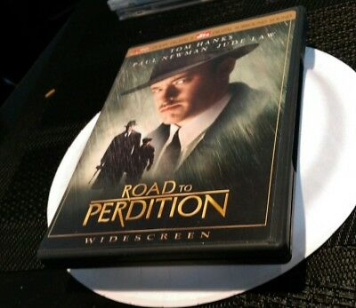 Road To Perdition DVD Movie Film DTS Widescreen Tom Hanks Paul Newman Jude Law