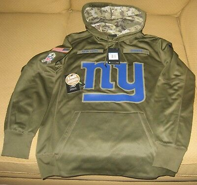 best website 2a26a 020f0 NIKE NEW YORK Giants 2016 Salute to Service Hoodie ...