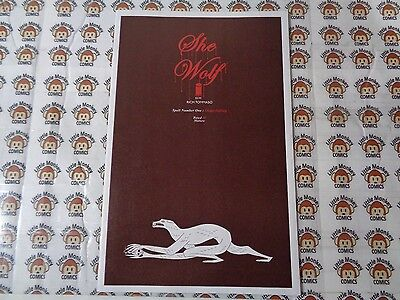 She Wolf (2016) Image - #1, 1st Print, Rich Tommaso, NM
