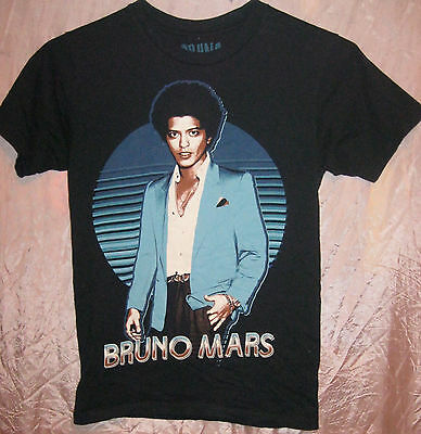 Bruno Mars Authentic 2013 Moonshine Jungle Concert Photo Tour Shirt Small Mint