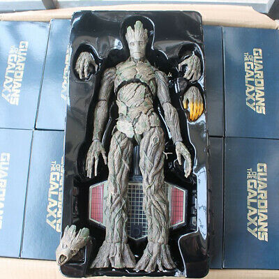 "1/6 16.53"" Masterpiece Guardians of the Galaxy PVC GROOT Treeman Figure With Box"