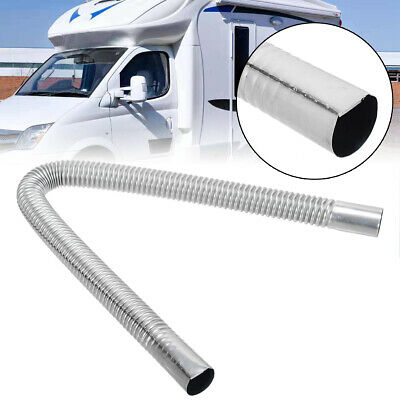 "1/"" Gas Vent 60CM Stainless Steel Exhaust Pipe For Air Diesel Parking Heater O.D"