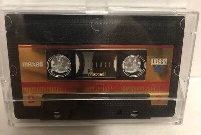 1 MAXELL UDS  I  90   BLANK CASSETTE  TAPE USED TAPES! USED