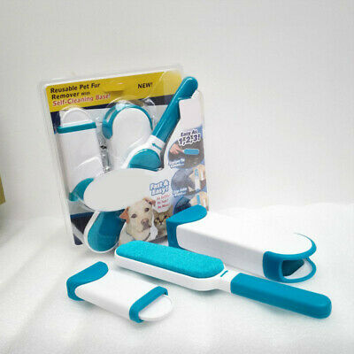 Pet Dog Fur Hair Lint Remover Wizard Travel Size Clothes Fabric Cleaning Brush