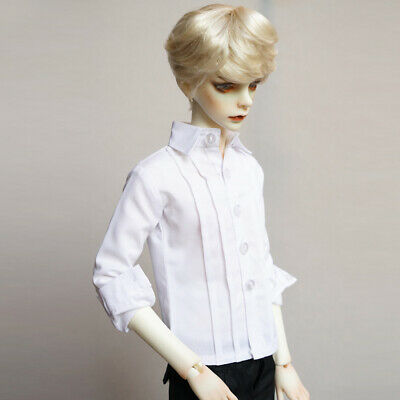 [PF] 529# White Shirt/Clothes For 1/6 1/3SD 1/4 MSD DZ AOD SD17 BJD Boy Dollfie