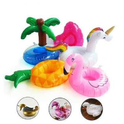 Flamingo Cup Holder Coasters Float Drink Holders Swimming Pool Summer Party Toy