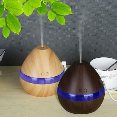 LED Essential Oil Humidifier Ultrasonic Diffuser Aroma Aromatherapy Air Purifier