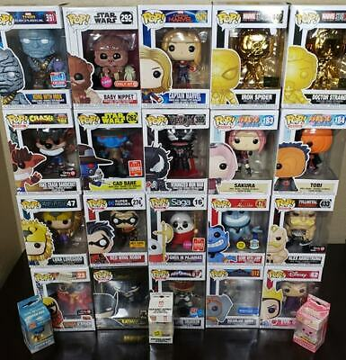 Funko POP! YOUR PICK: DC/Marvel/Anime EXCLUSIVES ALL UNDER $20 (Free Shipping)
