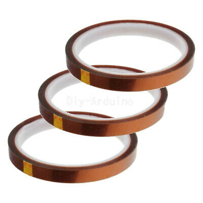 10mm 100ft BGA High Temperature Heat Resistant Polyimide Gold Kapton Tape New
