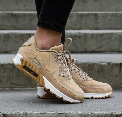 detailed look ec0f8 da2d9 Womens Nike Air Max 90 Se Size 3.5 Eur 36.5 (881105 200) Mushroom /