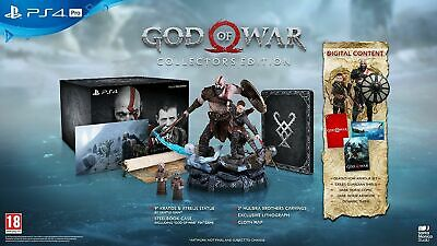 God Of War 4 Iv Collector's Edition New English Sony Ps4 Figure Collectors