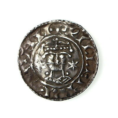 **Wiliam I Silver Penny Two Stars Type 1066-1087AD Norwich **