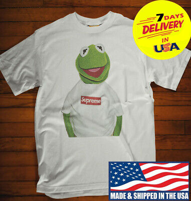 ce117aa9048f 12SUPREME KERMIT FROG Tee Out 12 Shirt Funny T-shirt for Men's Women ...