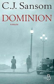 Dominion by SANSOM, C. J.   Book   condition good