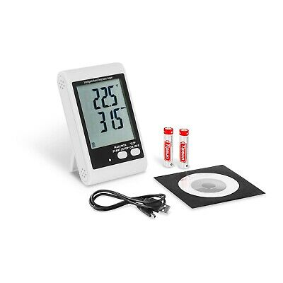 Datenlogger Temperatur thermometer Luftfeuchte USB Datenlogger PC-Software LCD