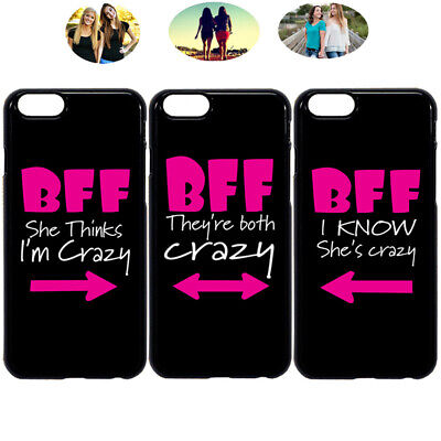 big sale d2960 5b79d WE ARE FRIENDS Best Friend Bff Phone Case Cover For iPhone X XR 6 7 ...