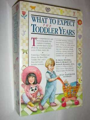 What to Expect the Toddler Years by ARLENE EISENBERG - 1999 Large PB