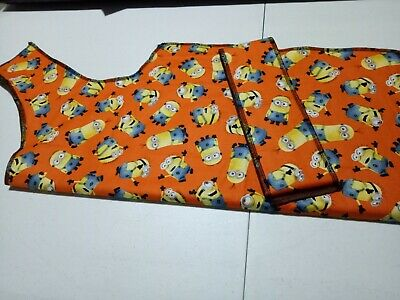 Greyhound Housecoat 70-80cm (Spring) Minions in Orange or Yellow