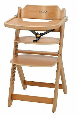 Safety 1st Timba Wooden Highchair (Natural) 6mths - 10 Yrs NEW