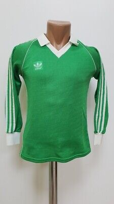 87056652a Adidas Vintage Template 1970 S Green Football Shirt Jersey Size S Adult