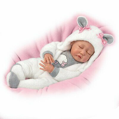 The Ashton-Drake Galleries So Truly Real MILEY Lifelike Baby Doll