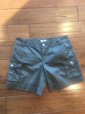 Cache Wonen's Army Olive Green Shorts Cargo Casual Size 2 NWT