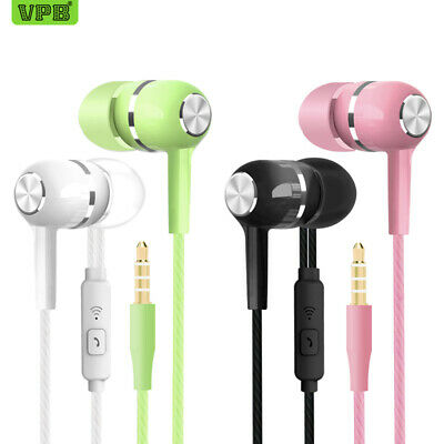 VPB S12 Sport Earphone wholesale Wired Super Bass 3.5mm Crack Colorful Headset E
