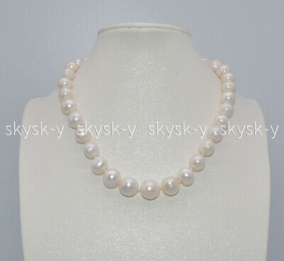 10-18MM SOUTH SEA WHITE BAROQUE NATURAL PEARL NECKLACES 17//20//24/'/'