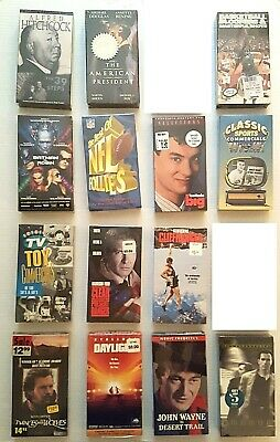 Unopened VHS Tapes (Your Choice of 2)