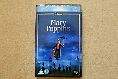 Disney Mary Poppins ( With Collectable Sleeve )  New Sealed Genuine Uk Dvd