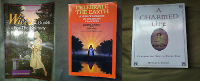 3 BOOK LOT: Occult Witchcraft Divination Astrology Wicca Raymond