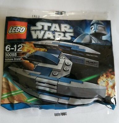 LEGO Star Wars 30055 Vulture Droid BUY 6 POLYBAGS =FREE SHIPPING MISB