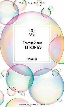 Utopia (Manesse Bibliothek, Band 12) by Morus, T... | Book | condition very good