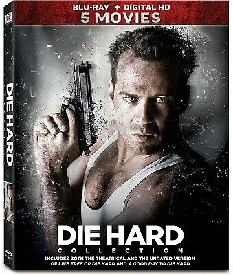 Die Hard 5-Movie Collection by Bruce Willis Blu-ray 5 disc collection
