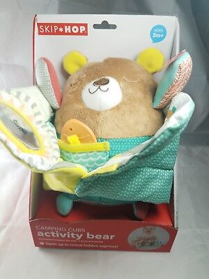 Skip Hop Baby Kids Childs Camping Cubs Activity Bear New