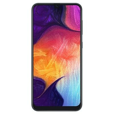 Smartphone 4G Samsung Galaxy A50 Black DS Android Mem. ROM 128 GB RAM 4GB NUOVO