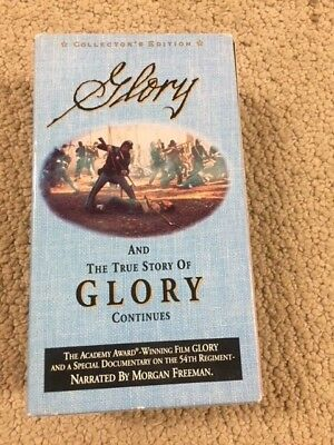 Glory,Collectors Edition 2 Vhs Box Set, And The True Story Of Glory- B102