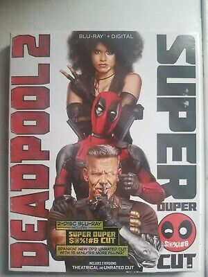 Deadpool 2 Super Duper Cut Blu-Ray Brand New with Slip Cover