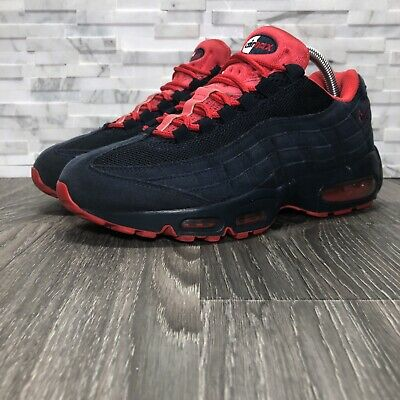 422dc8b71ad Nike Air Max 95 2011 Retro Obsidian Blue   Action Red Running Shoe (609048-