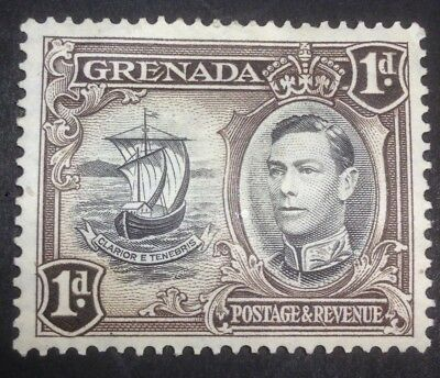 1938 GRENADA KING GEORGE VI 1D  SG 154a  MH STAMP